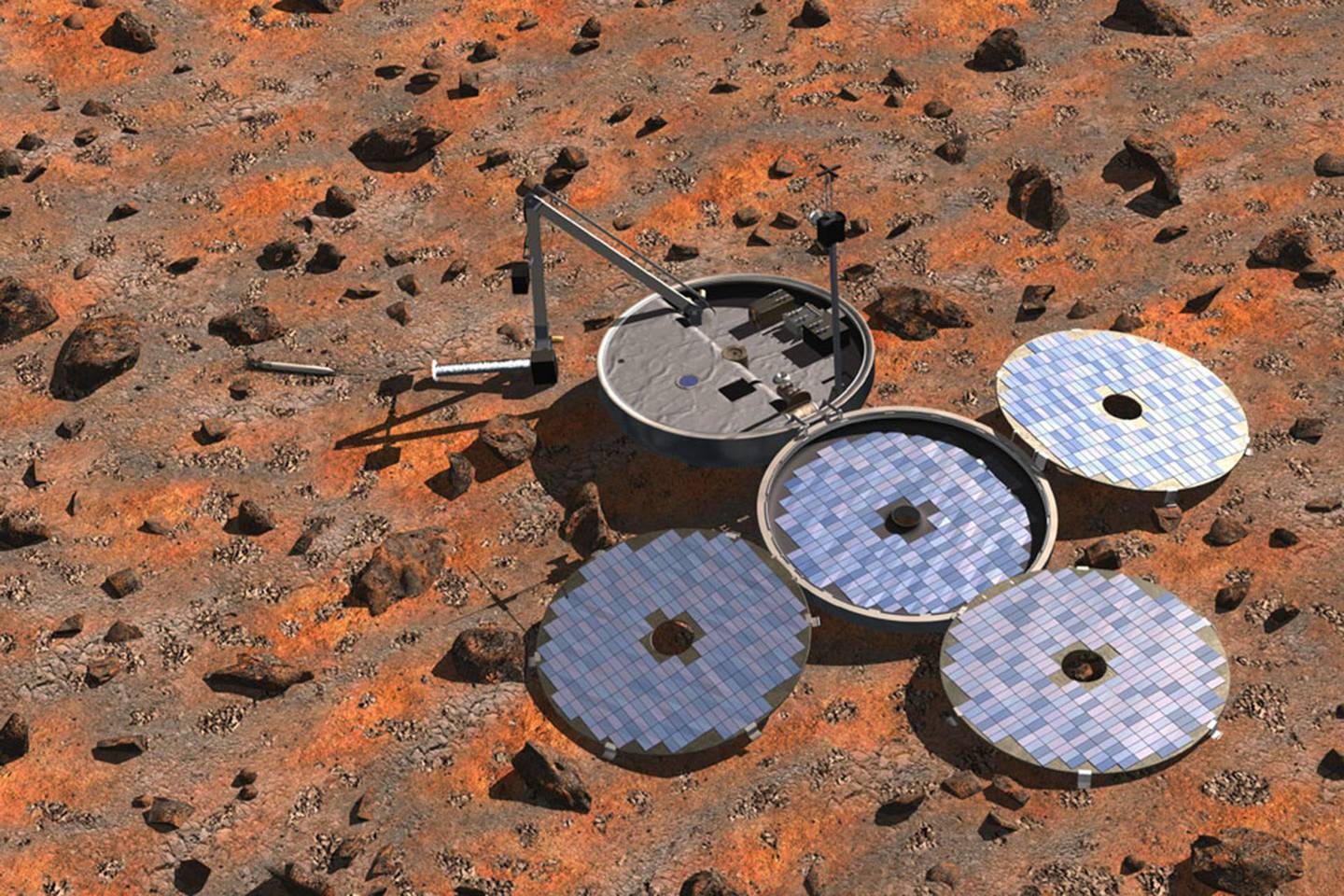 Lost Beagle 2 Mars Lander Found 11 Years After Launch