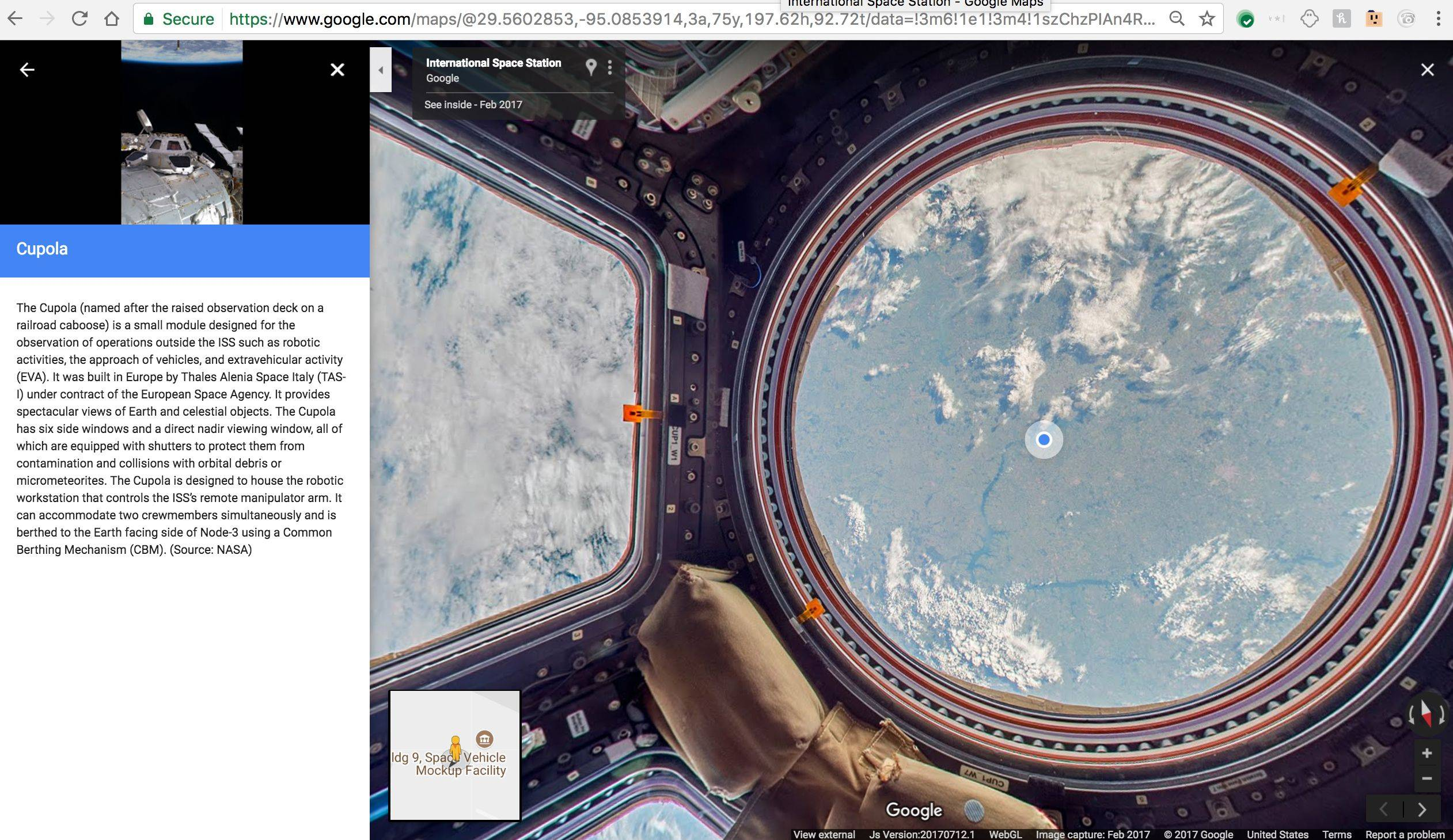 You can now chill like an astronaut on the iss with google street you can now chill like an astronaut on the iss with google street view wired uk gumiabroncs Choice Image