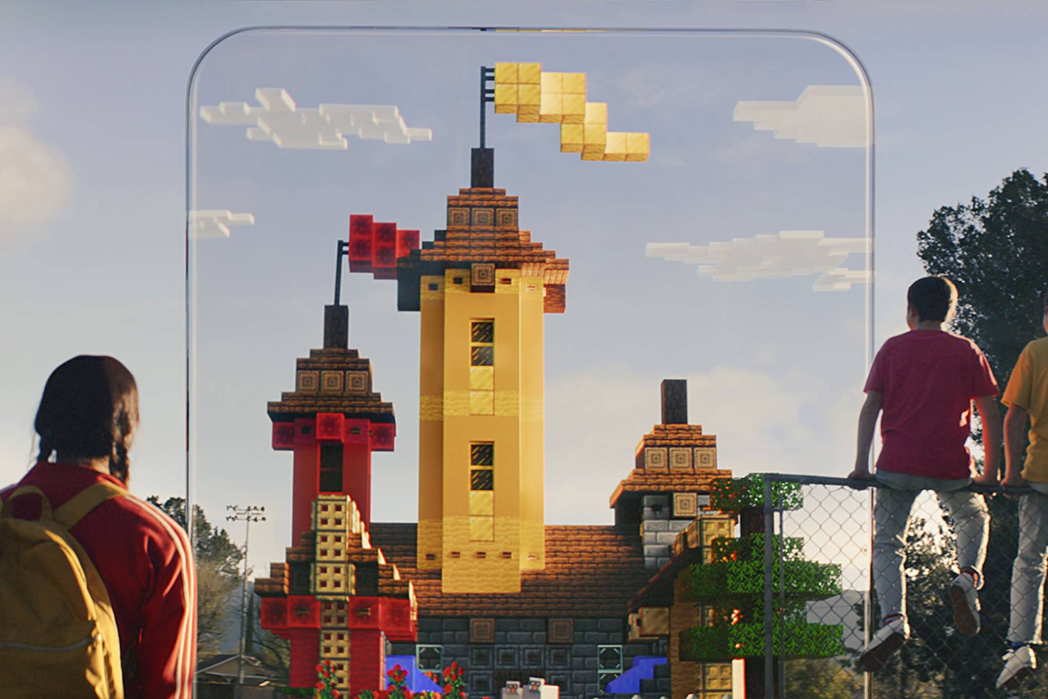 Inside Minecraft Earth, Microsoft's huge augmented reality