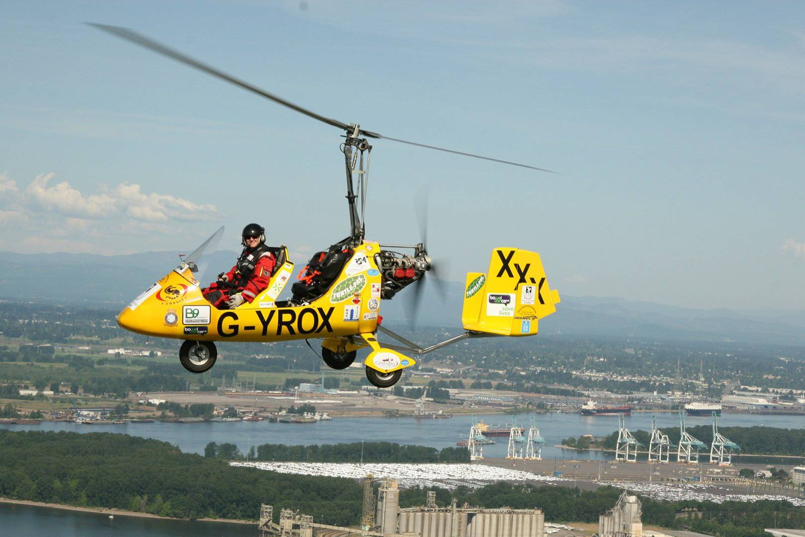 Gyrocopter man completes epic round-the-world flight | WIRED UK