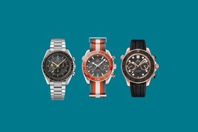 These new Omega watches are futuristic throwbacks with a twist