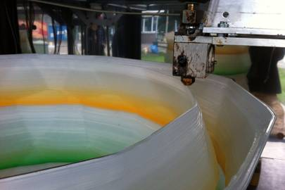 Kamermaker printing out a large-scale object
