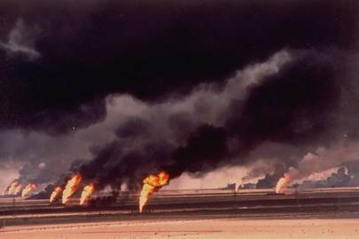 The Kuwaiti oil fires