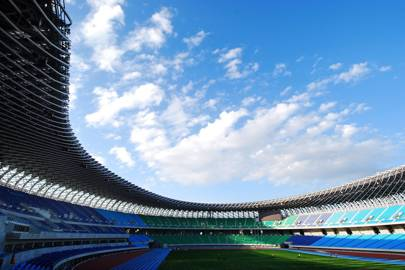 Main Stadium for The World Games 2009, 2006-2009, Kaohsiung, Taiwan