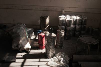 A selection of Abu Yassin's homemade bombs.