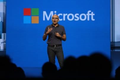 Satya Nadella at Microsoft Build 2016