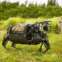 Boston Dynamics LS3 Robotic Pack Mule