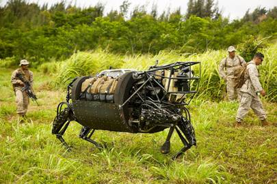 Boston Dynamics LS3 Robotic Pack Mule