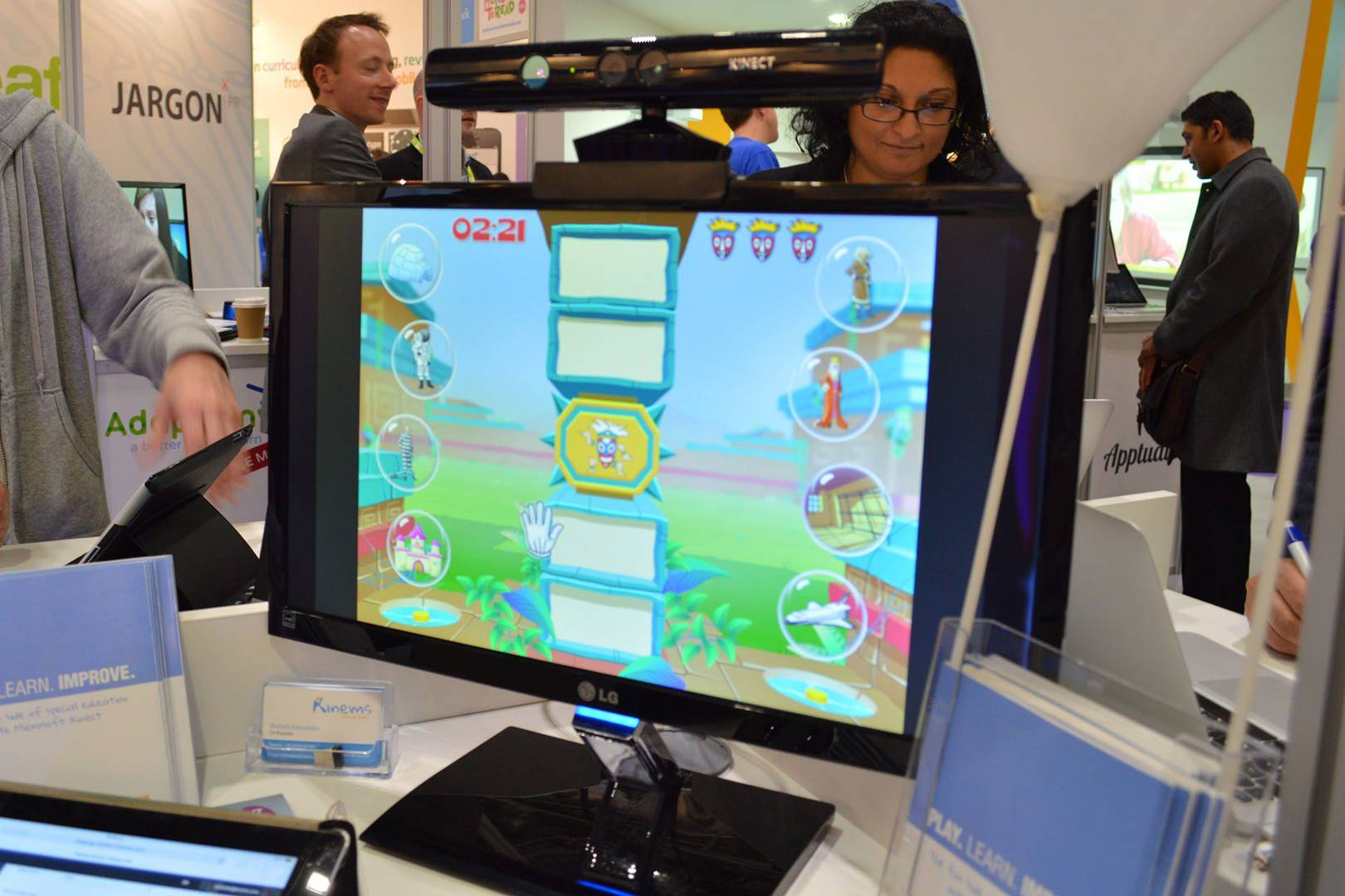 Kinect-based games shown to have positive impact on children