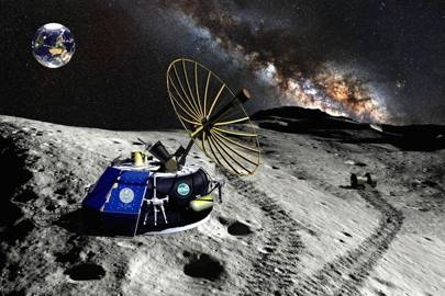 Moon Express was the first private company to win approval to land a robotic probe on the Moon