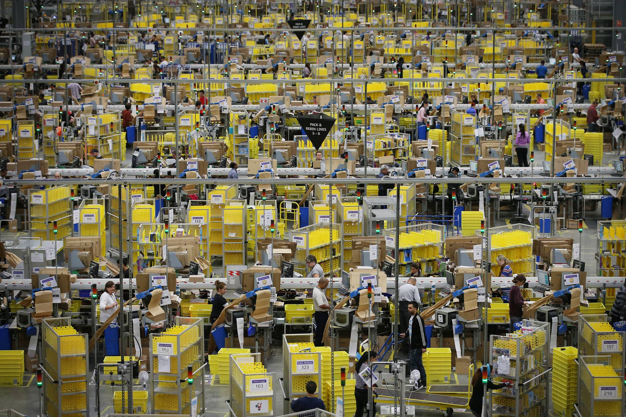 UK shops stockpiling for a no-deal Brexit don't stand a chance