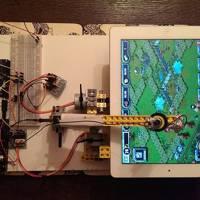 Lego Technics iPad game robot