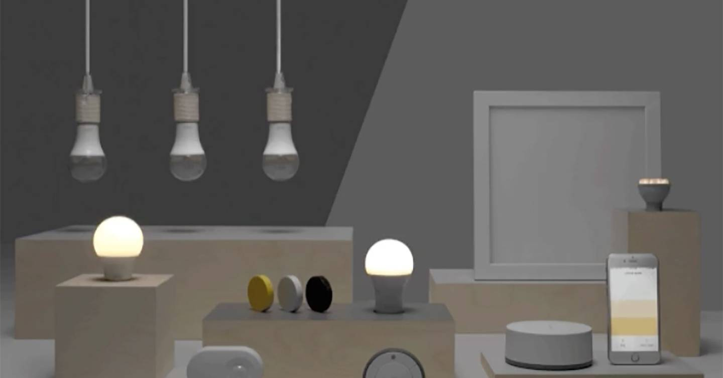 Ikea smart lighting will soon be voice controlled wired uk for Ikea lights google home