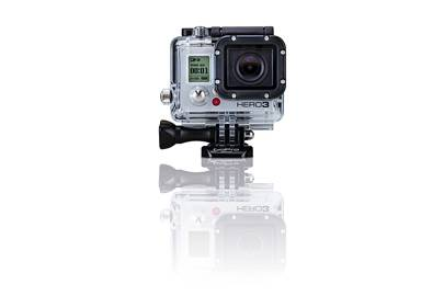 A wearable, lightweight, rugged waterproof camera ideal for point-of-view action footage