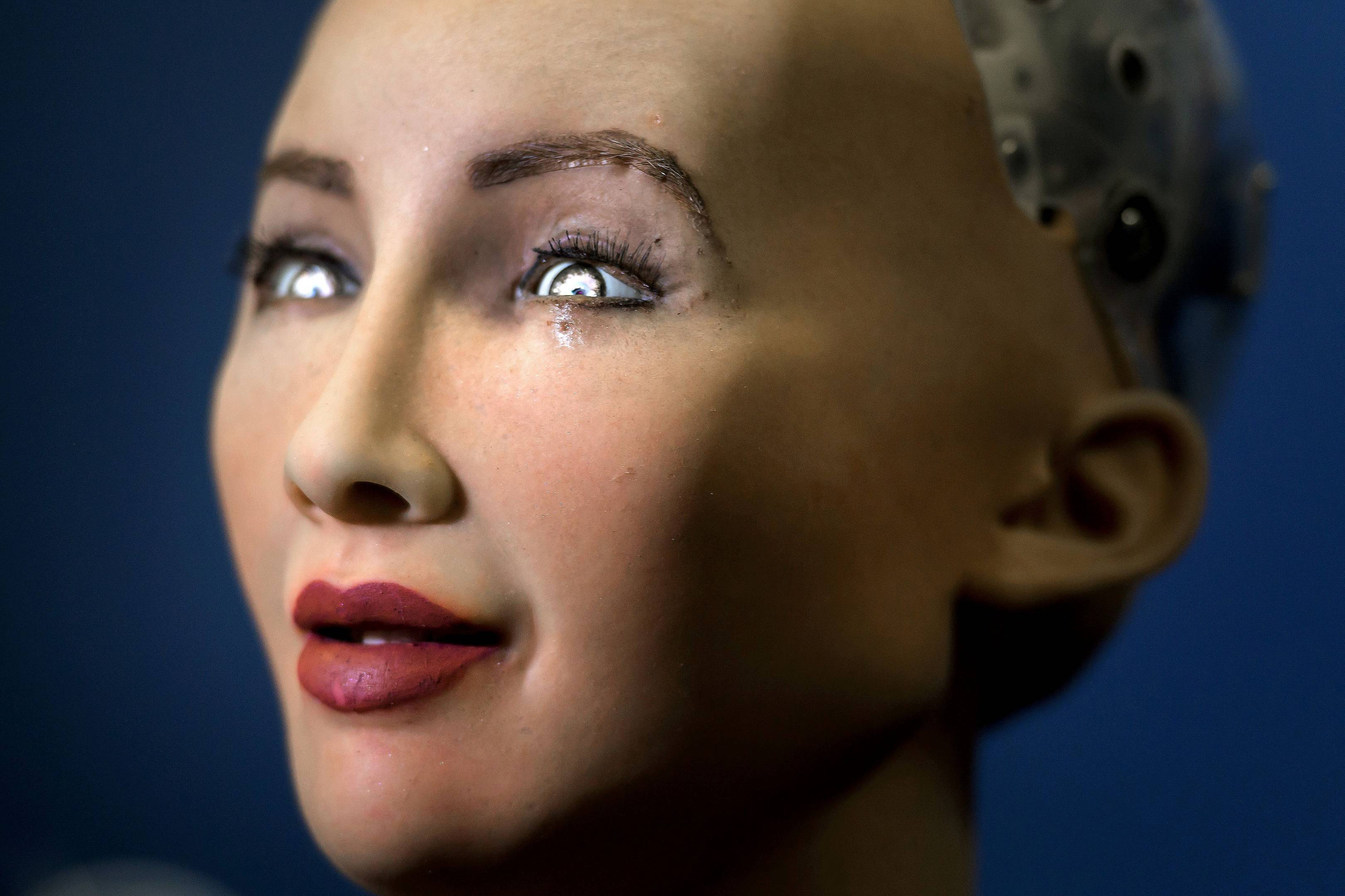 The agony of Sophia, the world's first robot citizen condemned to a