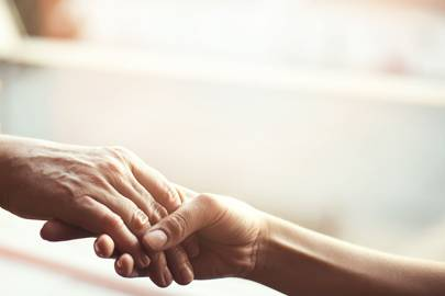 Touch can communicate 12 different emotions, from gratitude, to sympathy and love