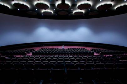 Orbi's 40-metre-wide theatre screen