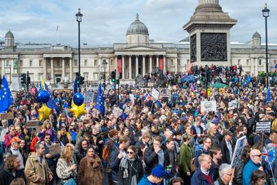 We counted all the people on the Brexit march so you don't have to