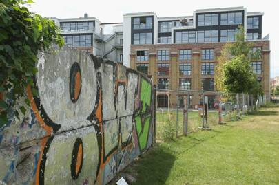 Coworking space Factory, founded in 2014, is located in a former brewery. It sits right on the edge of what was once no-man's land between East and West Berlin