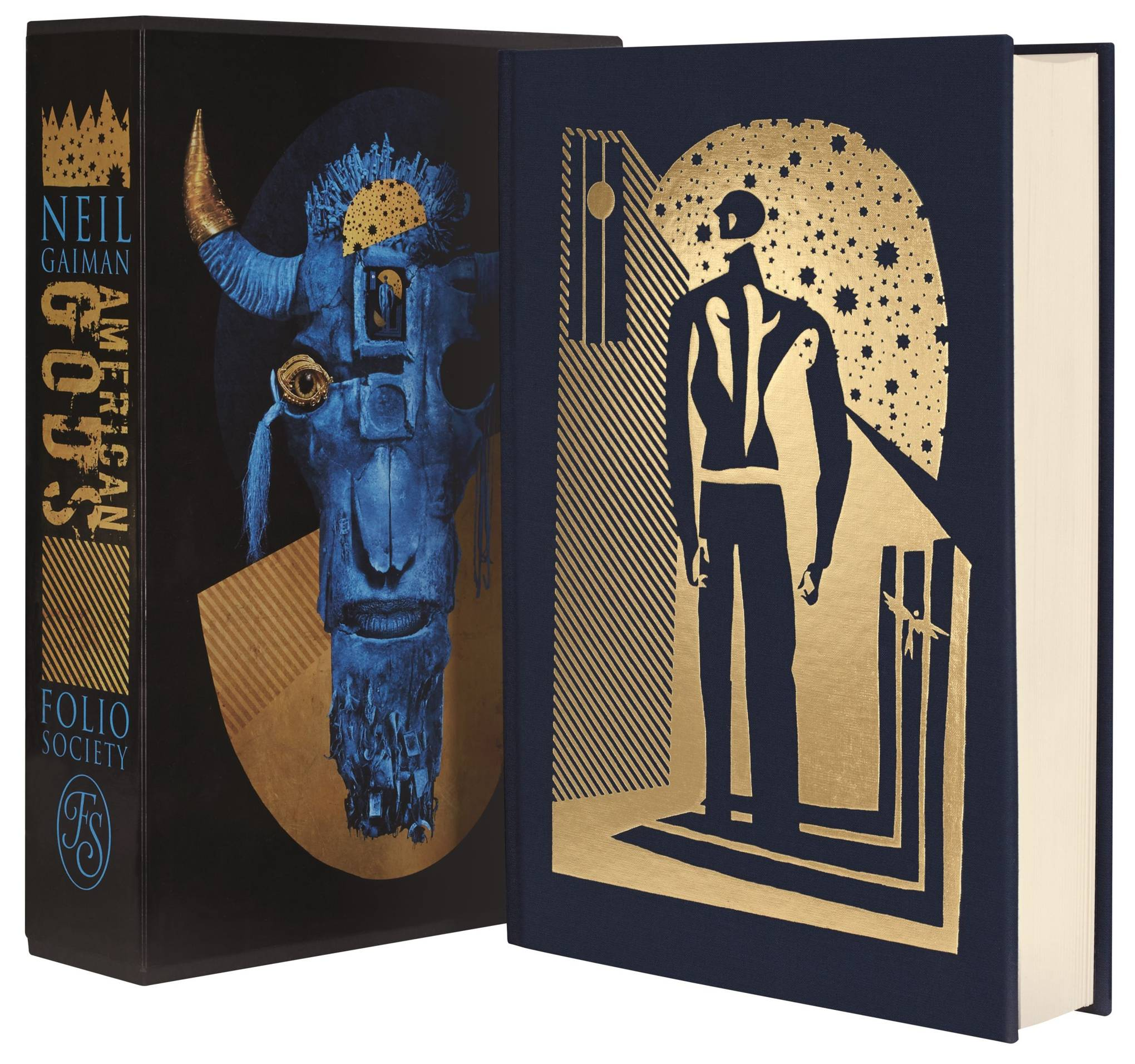 Neil Gaiman partners with Dave McKean for new American Gods