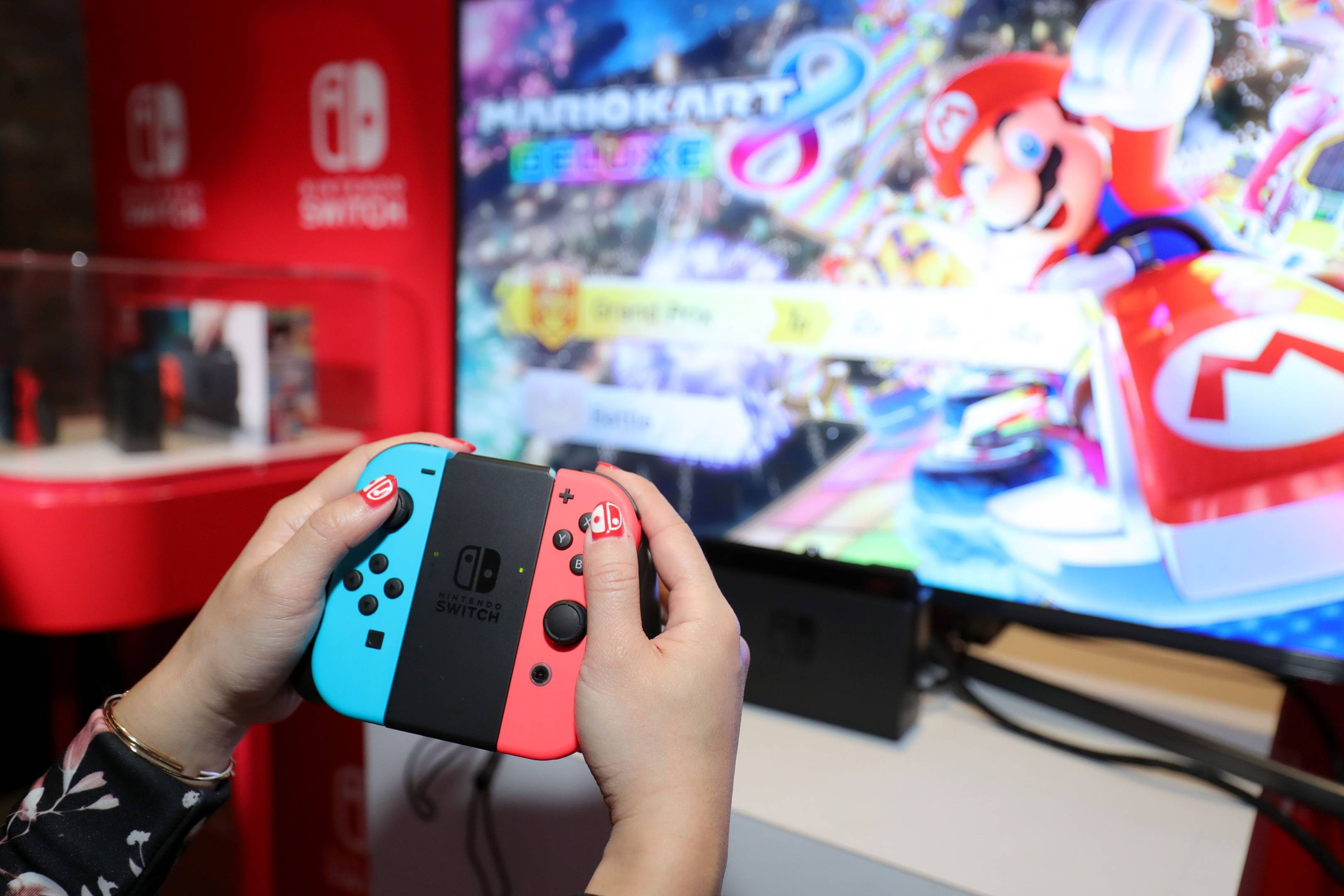 Nintendo Switch Hands On Ingenious But Flawed Wired Uk 8 Way Joystick