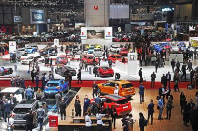 At The Geneva Motor Show Electric Cars Finally Took Over - Geneva car show