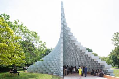 The Serpentine Gallery's annual summer pavilion in Hyde Park, London