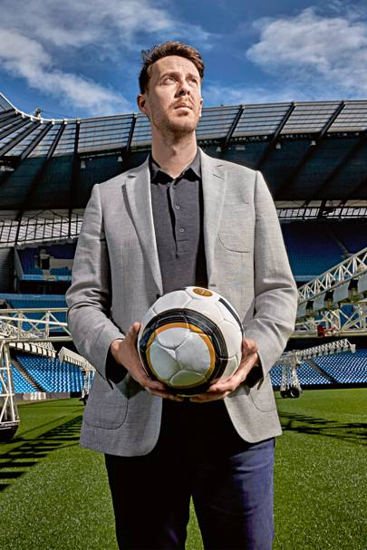 Simon Wilson, manager of strategic performance art Manchester City FC