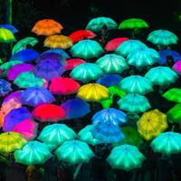 The Umbrella Project by Cirque Bijou, Piccadilly, Fitzrovia and King's Cross