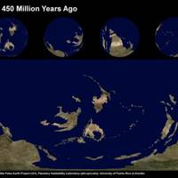 Earth 450 Million Years Ago