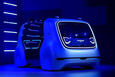 Volkswagen's 'Cedric' self-driving automobile