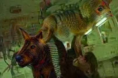 """Google Deep Dream does """"Fear and Loathing"""""""