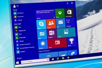 Windows 10 desktop image