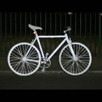 volvo 39 s lifepaint makes cyclists glow in the dark wired uk. Black Bedroom Furniture Sets. Home Design Ideas