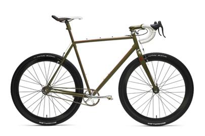 One-speed cross-racer:Vanilla Speedvagen cyclo-cross bike
