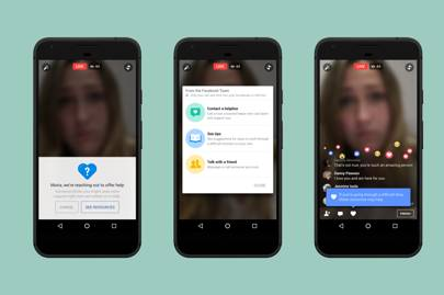 Facebook Live now has suicide prevention tools built-in