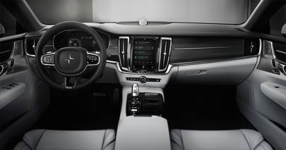 The interior of the new Polestar 1     Volvo