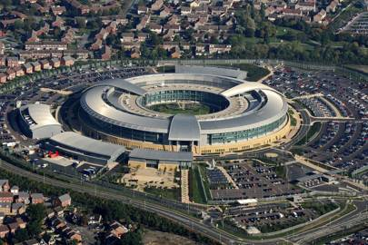 The headquarters of UK intelligence agency GCHQ