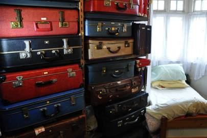 Tim's collection is so vast, he hardly has room for his bed