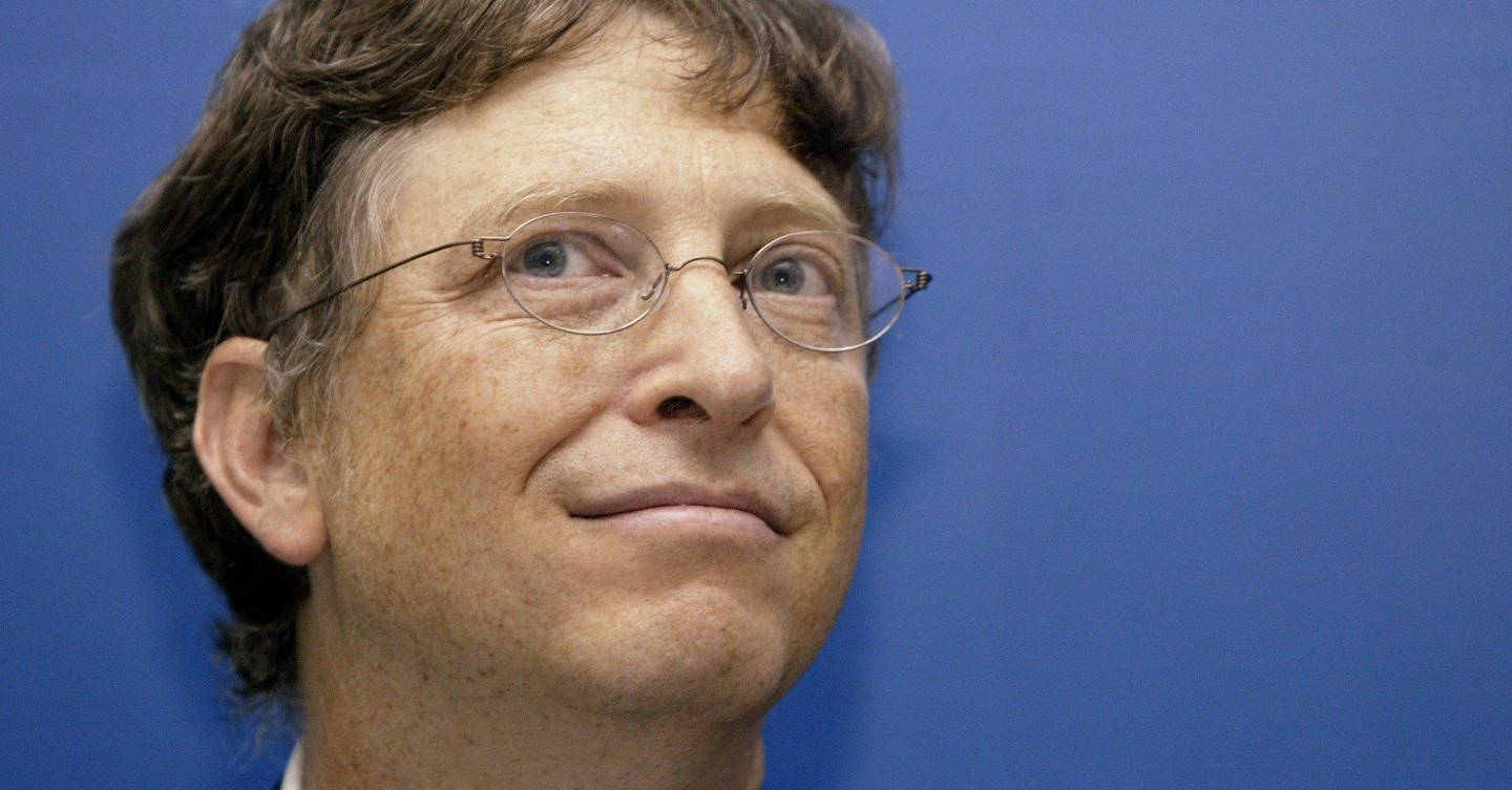 Bill Gates: capitalism means male baldness research gets more ...