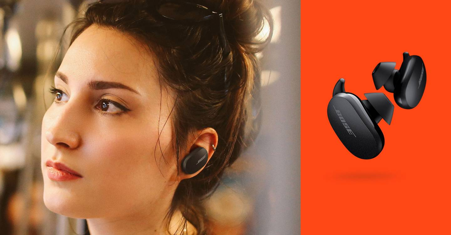 Bose's QuietComfort Earbuds are the best noise cancellers around