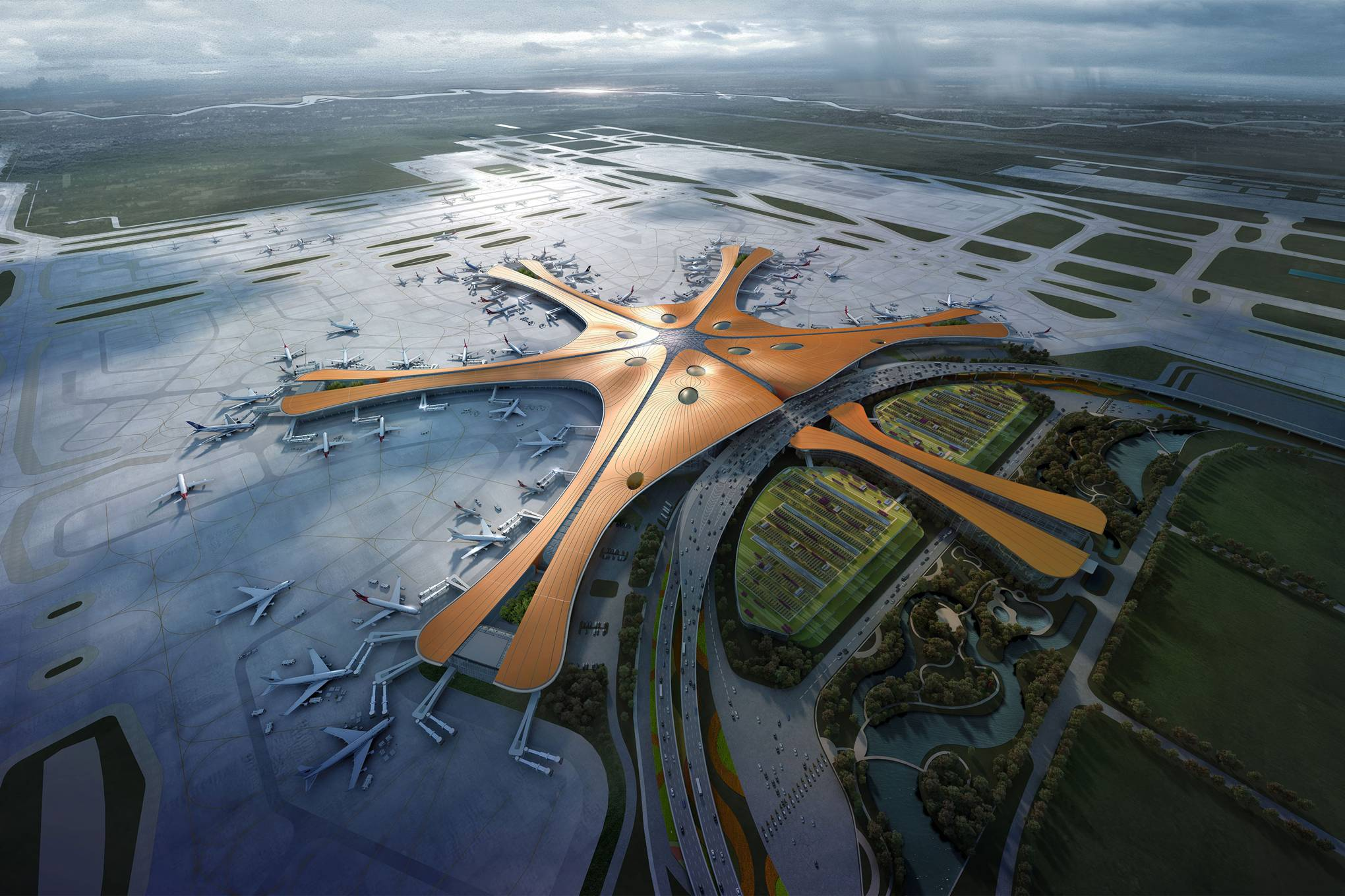 China built the world's biggest airport for way less than Heathrow's third  runway | WIRED UK