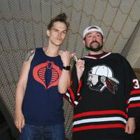 Jason Mewes and Kevin Smith - the real life Jay and Silent Bob