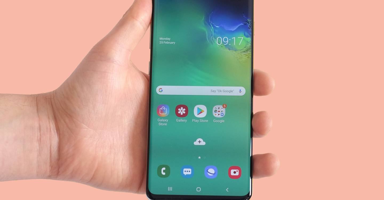 Friday briefing: Anyone's fingerprint can unlock a Samsung Galaxy S10