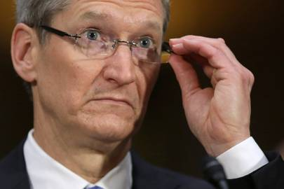 Tim Cook says the company will take a stand against attempts to weaken encryption