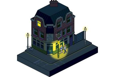 Norwich-based lighting company EnLight uses a light sensor system networked to a Wi-Fi-enabled chip to turn on lamps at night only when people are near. The chip also has built-in GPS, which remotely identifies and monitors each street lamp on a circuit, and automatically switches them on at pre-set times, then dims them by 30 per cent between 12.30am and 6am. This results in huge savings on both energy consumption and bills. MV enlight.co.uk
