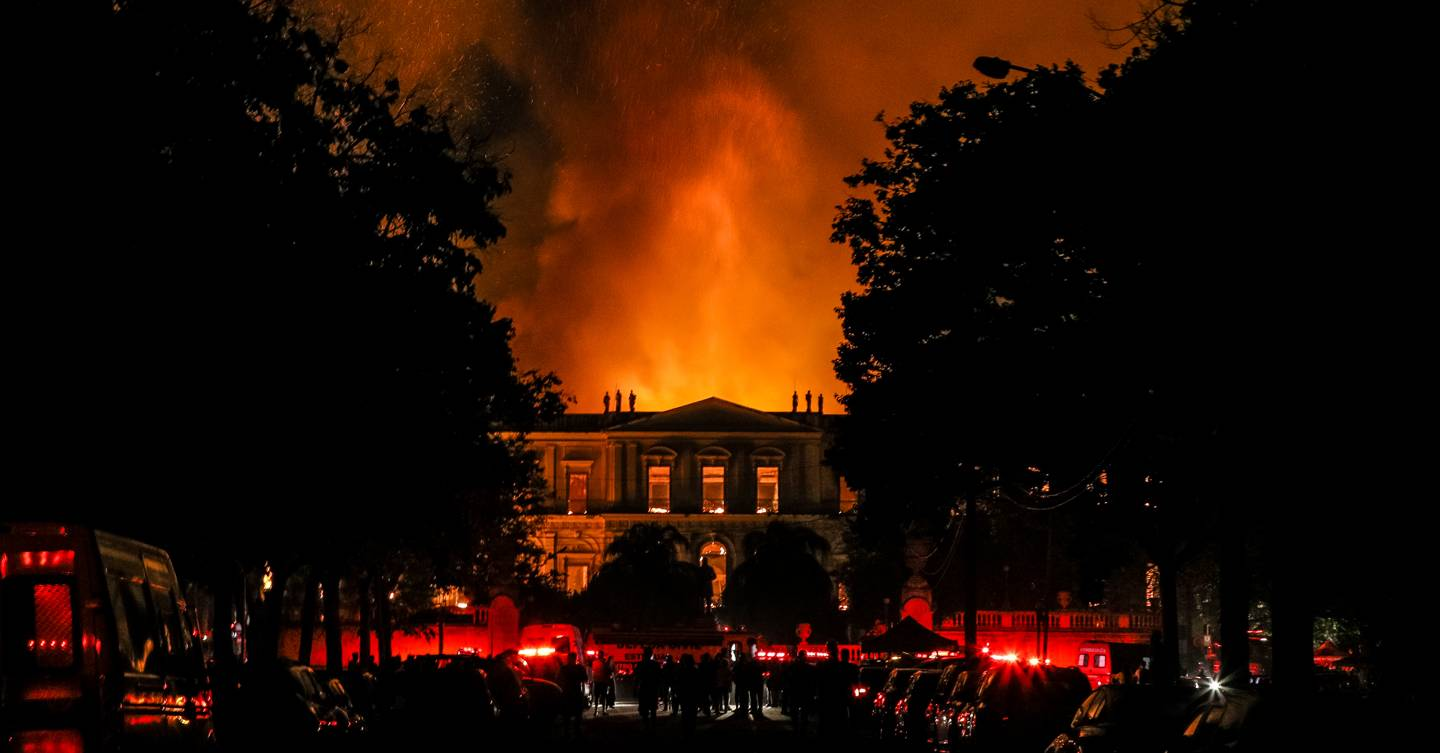 Is The Getty Museum On Fire No And Here S Why: Brazil's Fire Shows Museums Are Broken. Here's How To Fix