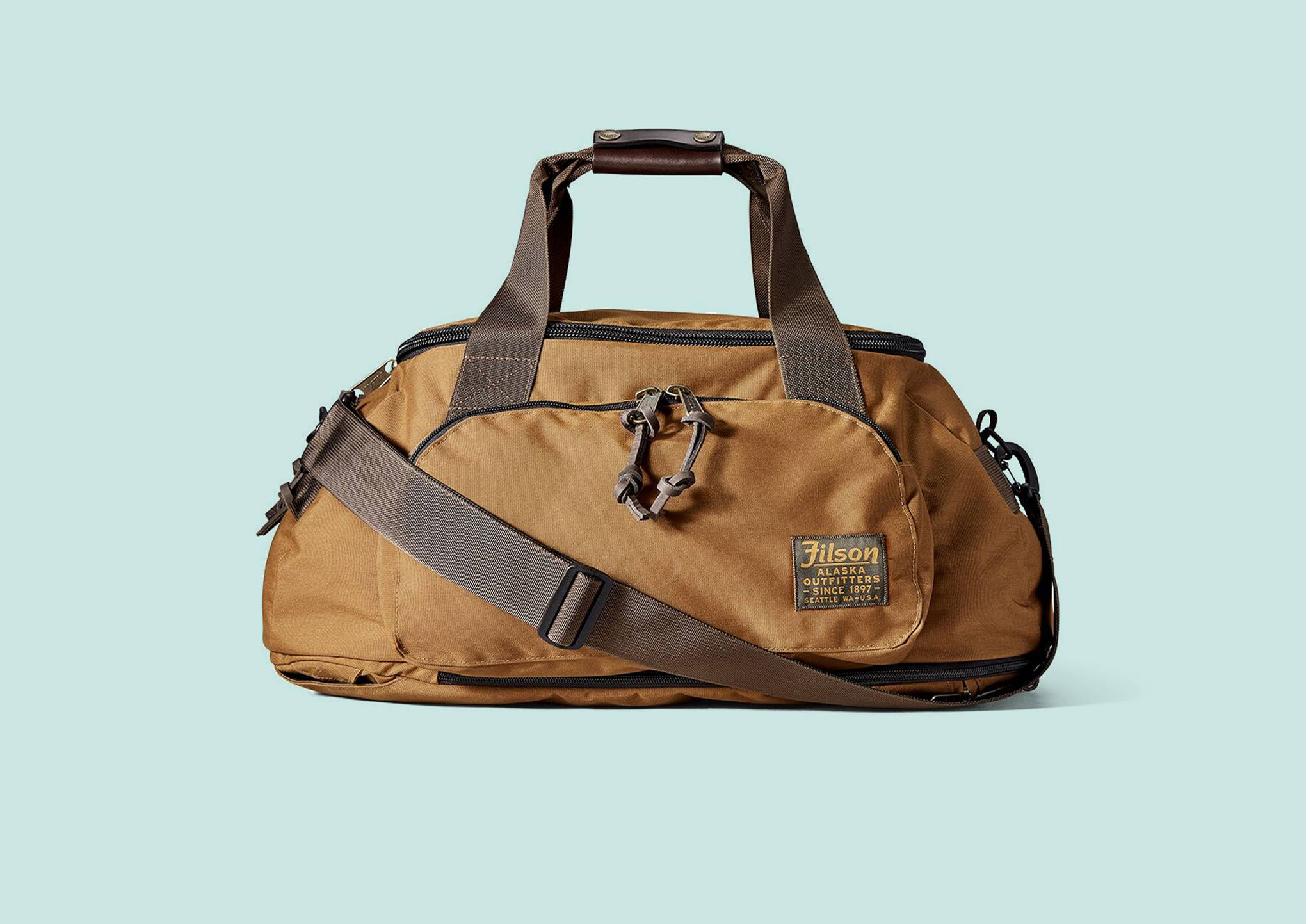 5251d24b193 Filson's Ballistic Nylon Duffle Pack is one of the best bags ever made |  WIRED UK