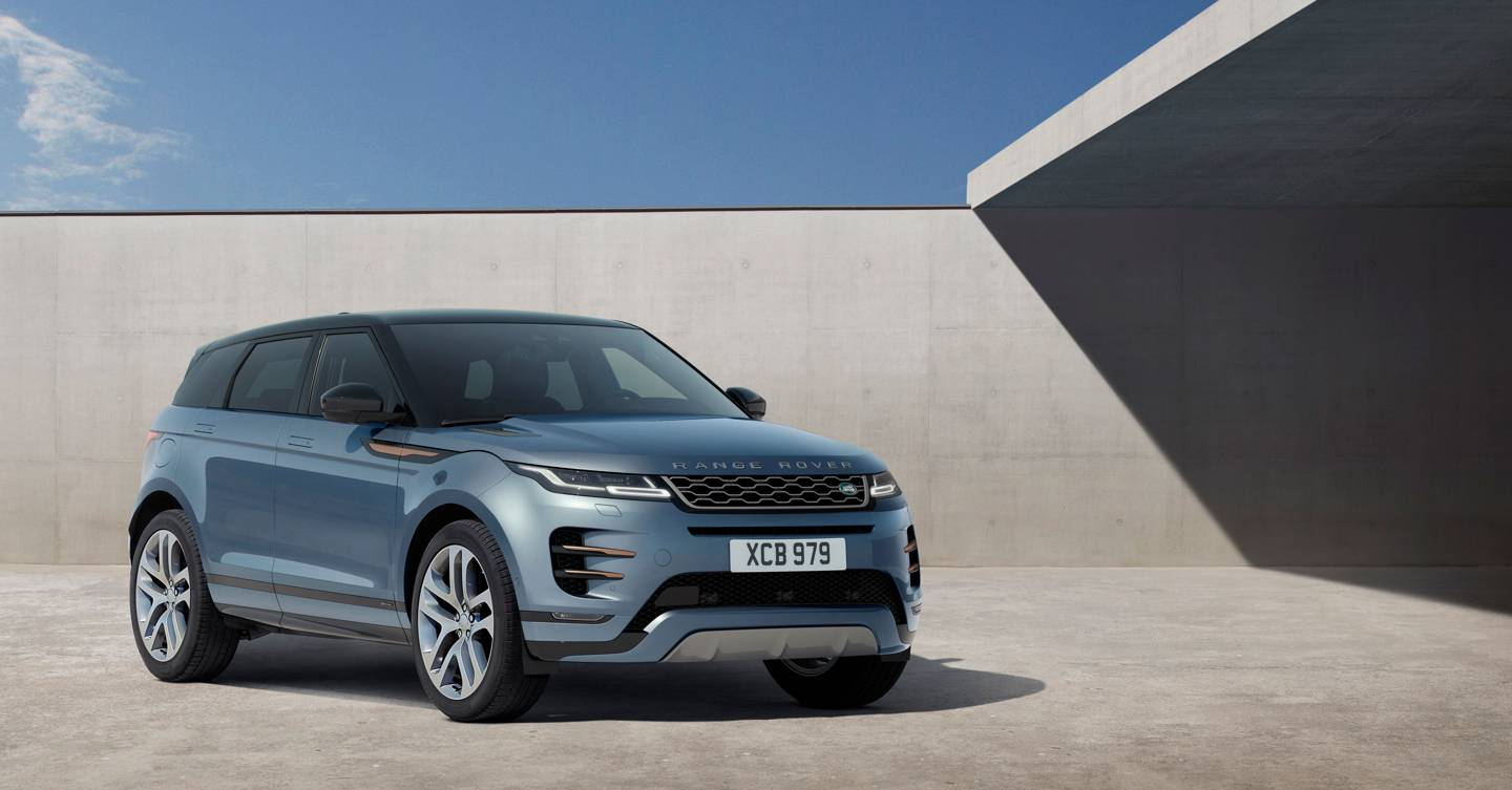 The new Range Rover Evoque is a hybrid SUV with a difference
