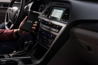 Hyundai Sonata with Android Auto